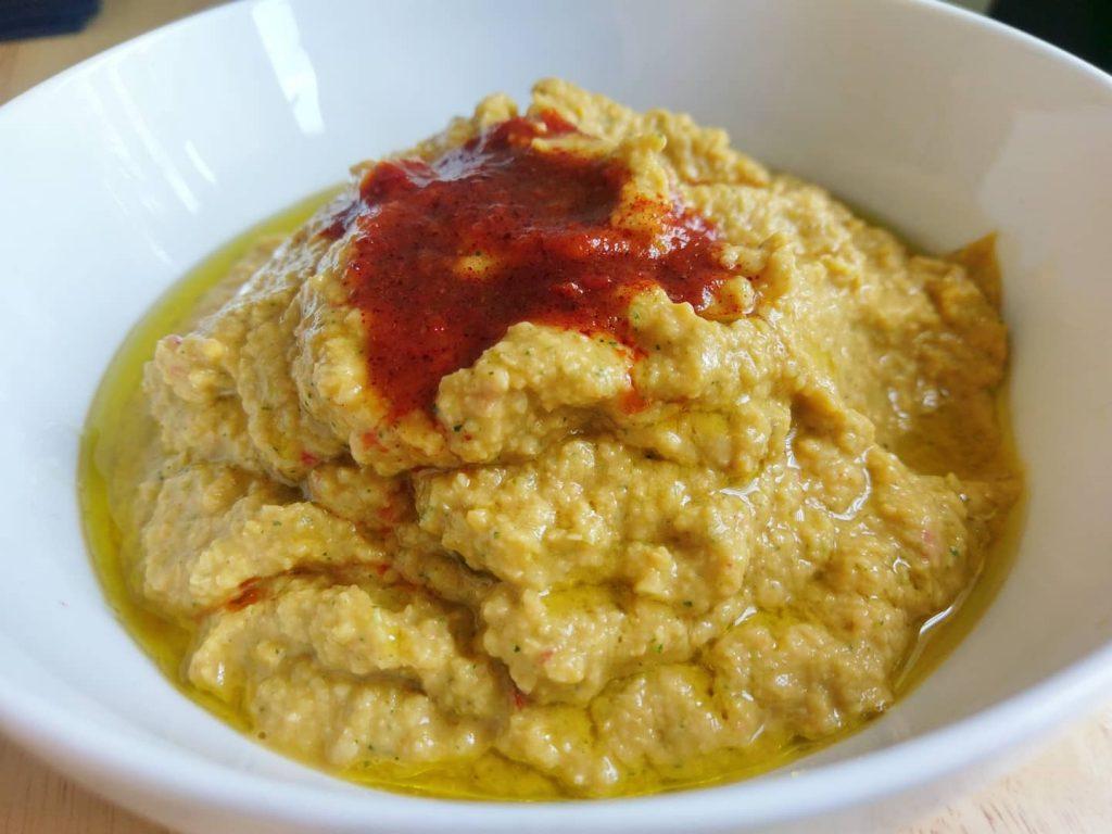 Homemade harissa hummus - Recipe by 4d Personal Training Cheltenham