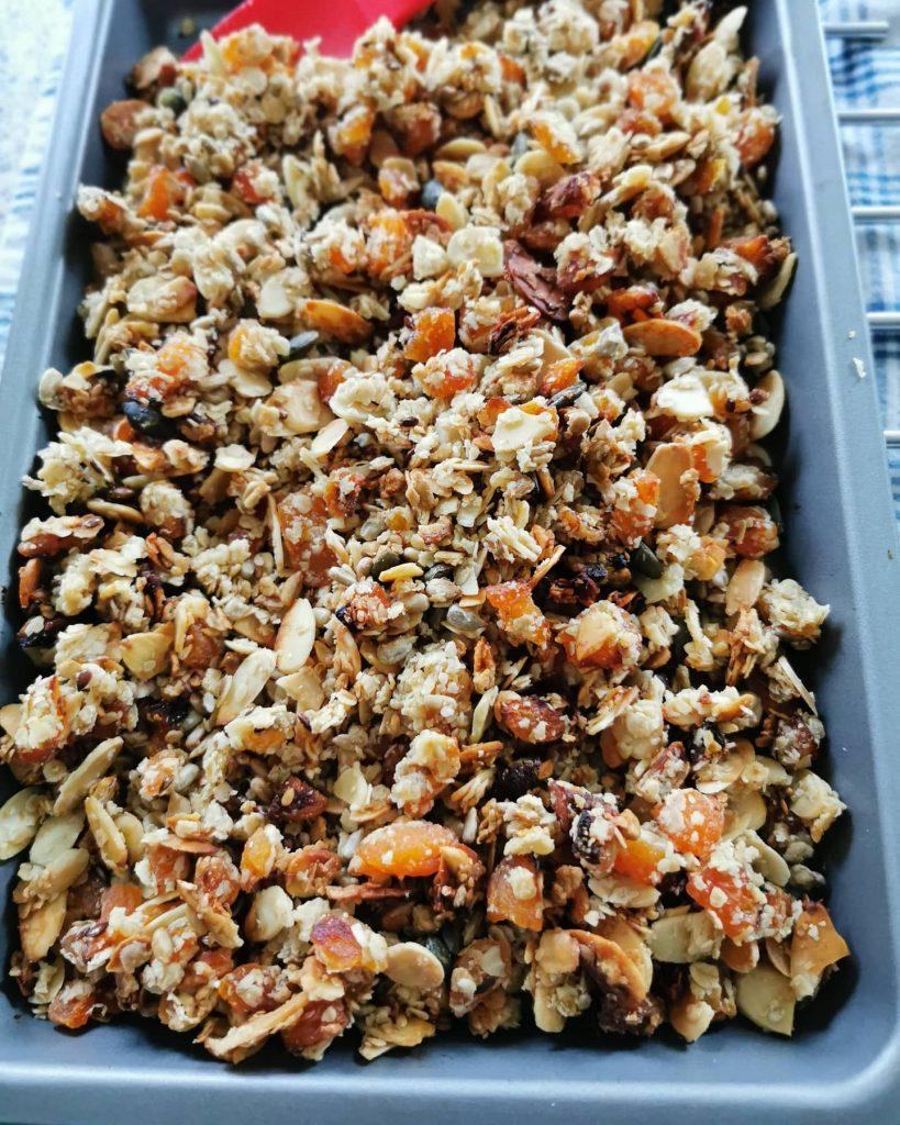 Homemade granola - Recipe by 4d Personal Training Cheltenham